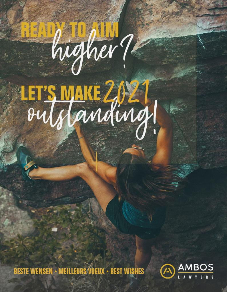 Ready to aim higher? Let's make 2021 outstanding!